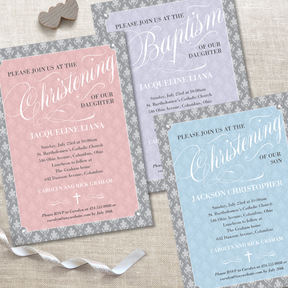 ChristeningScriptLeafDamask