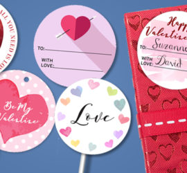 Valentine's Day free printable images